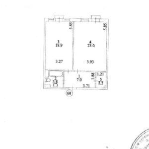 Продам однокомнатную квартиру на Клавдиевской 40б