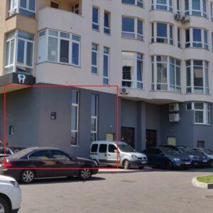 Продам группу нежилых помещений общей площадью 17,1м, фасад. Голосеевский район ул.Демеевская